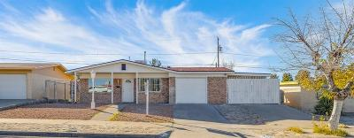 El Paso Single Family Home For Sale: 2205 Pacheco Drive