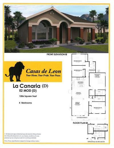 Horizon City Single Family Home For Sale: 14348 Tobe Davis Drive