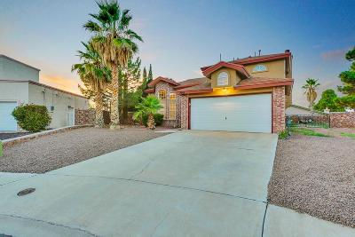 El Paso Single Family Home For Sale: 1905 Pueblo Azul Lane