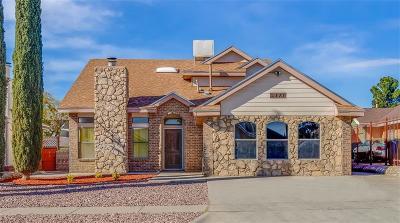 El Paso TX Single Family Home For Sale: $144,500