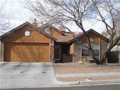 El Paso TX Single Family Home For Sale: $134,000