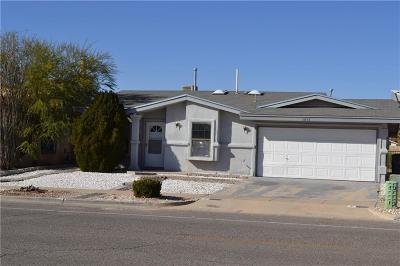El Paso TX Single Family Home For Sale: $109,900