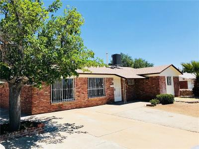 El Paso TX Single Family Home For Sale: $159,995