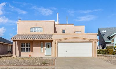 El Paso Single Family Home For Sale: 11891 Vere Leasure Drive