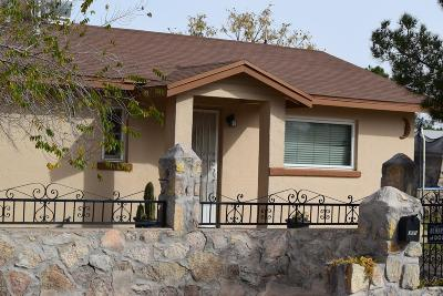 El Paso Single Family Home For Sale: 375 Arvin Circle