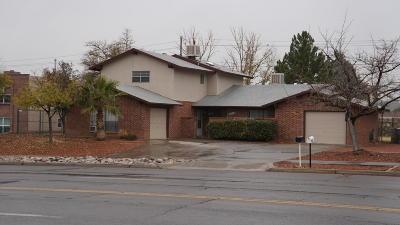 El Paso Single Family Home For Sale: 6912-6914 Escondido Drive