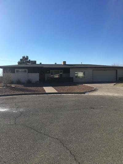 El Paso Single Family Home For Sale: 5909 Parkmont Place