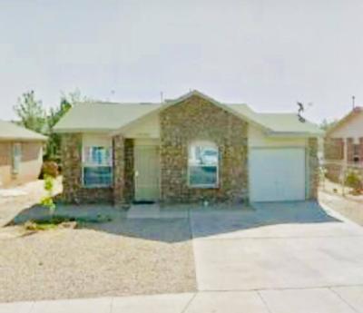 El Paso Single Family Home For Sale: 10221 Valle Del Mar Drive