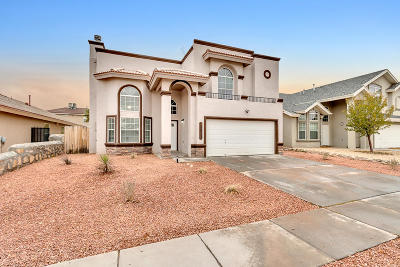 El Paso TX Single Family Home For Sale: $204,500
