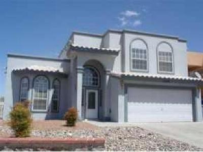El Paso TX Single Family Home For Sale: $179,900