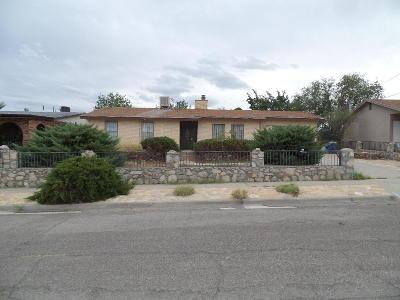 El Paso TX Single Family Home For Sale: $105,000