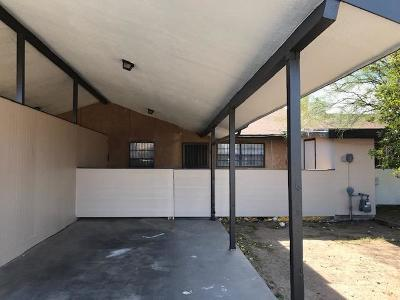El Paso TX Single Family Home For Sale: $72,000