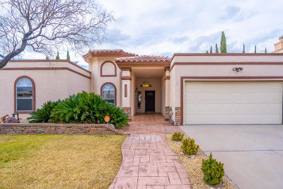 El Paso TX Single Family Home For Sale: $274,900