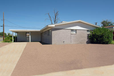 El Paso TX Single Family Home For Sale: $106,000