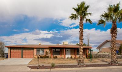 El Paso Single Family Home For Sale: 817 Somerset Drive