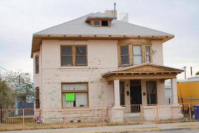 El Paso Single Family Home For Sale: 1332 Myrtle Avenue