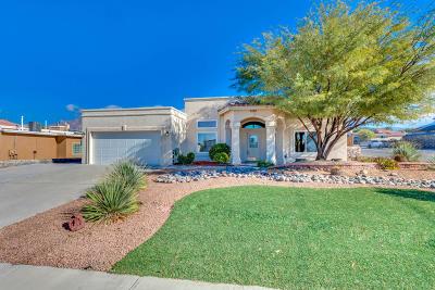 El Paso Single Family Home For Sale: 1200 Pasatiempo Circle
