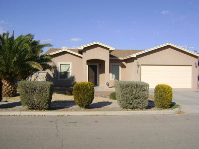 Socorro Rental For Rent: 1132 Chris Forbes Circle