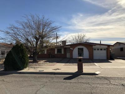 El Paso TX Single Family Home For Sale: $160,000