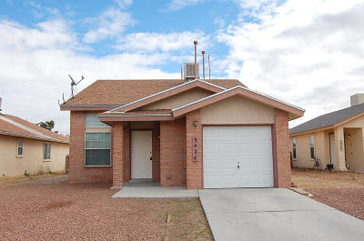 El Paso TX Single Family Home For Sale: $109,000
