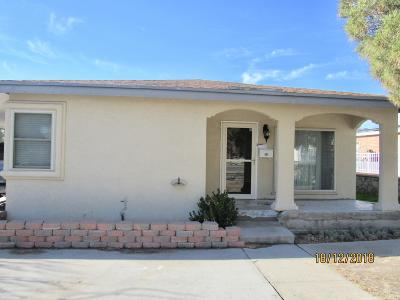 El Paso Single Family Home For Sale: 1605 Howze Street