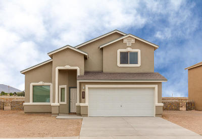 Socorro Single Family Home For Sale: 11537 Flor Gloriosa Drive