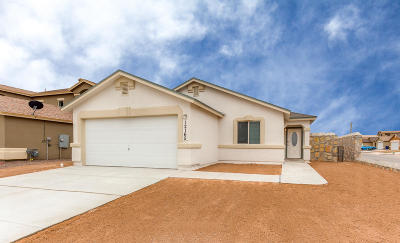 Socorro Single Family Home For Sale: 11513 Flor Gloriosa Drive