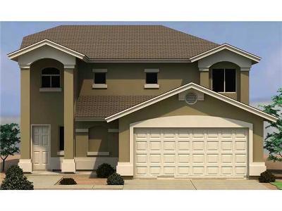Socorro Single Family Home For Sale: 11454 Flor Gloriosa Drive