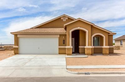 Socorro Single Family Home For Sale: 11524 Flor Celosia Drive