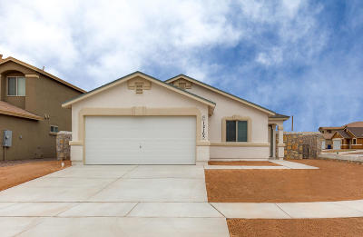 Socorro Single Family Home For Sale: 11542 Flor Celosia Drive