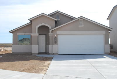 Socorro Single Family Home For Sale: 11496 Flor Gloriosa Drive