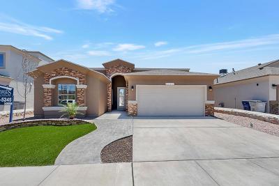 El Paso Single Family Home For Sale: 14568 Tierra Burgos