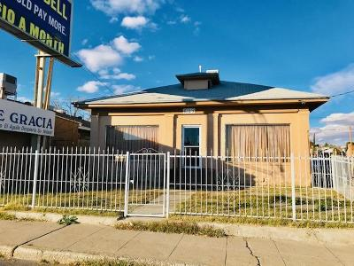 El Paso Single Family Home For Sale: 3029 Pershing Drive
