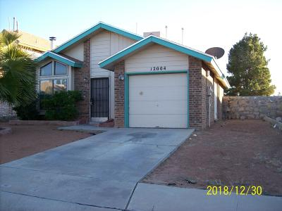 Single Family Home For Sale: 12004 Bellows Court