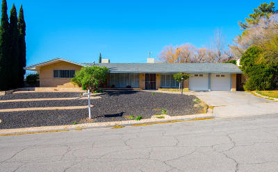 El Paso Single Family Home For Sale: 4313 Okeefe Drive