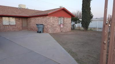Socorro Single Family Home For Sale: 9849 Gifford Drive