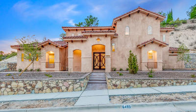 El Paso Single Family Home For Sale: 6495 Snowheights Court