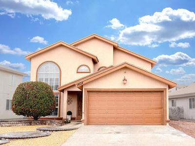 Single Family Home For Sale: 14124 Jason Crandall Drive