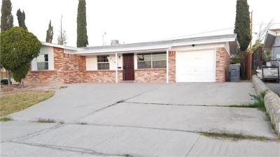 El Paso Single Family Home For Sale: 2140 Septiembre Drive