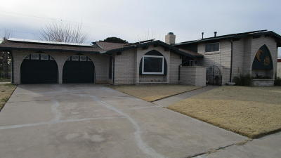 Horizon City Single Family Home For Sale: 16009 Homestead Drive