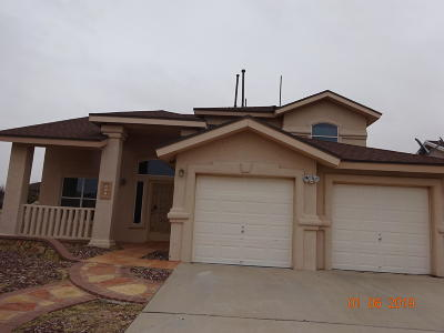 Horizon City Single Family Home For Sale: 444 Desert Dandelion Street