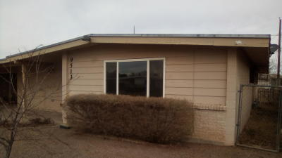 El Paso Single Family Home For Sale: 9513 Lindsey Drive