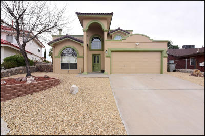 El Paso Single Family Home For Sale: 6916 Crown Ridge Drive