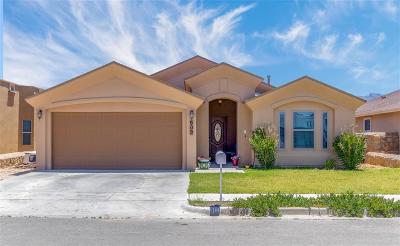 Anthony Single Family Home For Sale: 909 Desert Sage Street