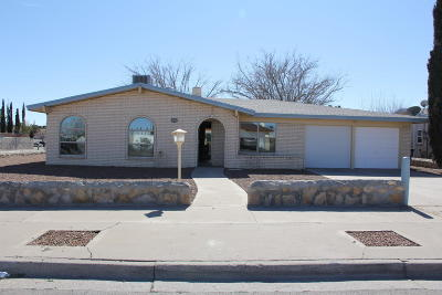 El Paso Single Family Home For Sale: 10560 Breezeway Avenue