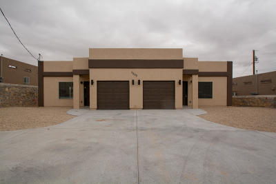 El Paso Multi Family Home For Sale: 8800 Eclipse Street #A/B