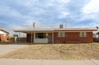 El Paso Single Family Home For Sale: 2704 Catnip