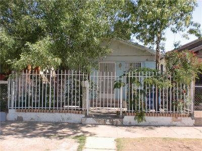 El Paso Single Family Home For Sale: 3216 Pera Avenue