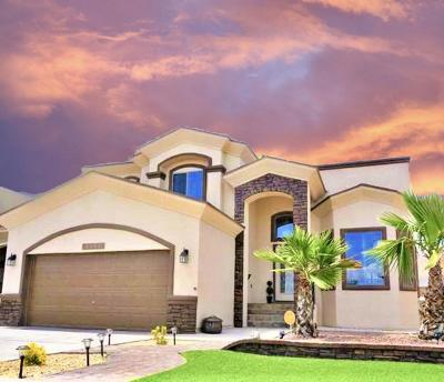 El Paso Single Family Home For Sale: 14552 Tierra Burgos