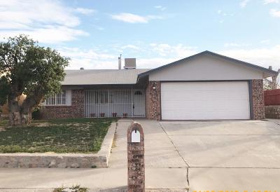 El Paso Single Family Home For Sale: 7036 Casa Loma Circle